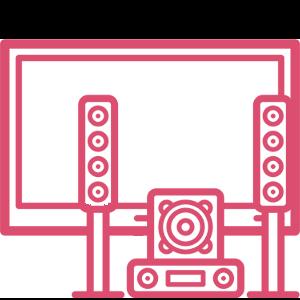 tv e audio video